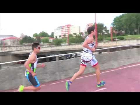 El Team Clavería participa este fin de semana en el Cto de España de Triatlón Élite de A Coruña