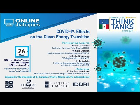 Webinar: COVID-19: Effects on the Clean Energy Transition