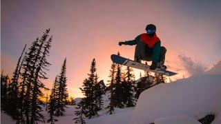 Шерегеш. фрирайд 2016 - сектор Е Sheregesh / snowboard, freeride, siberia,GoPro (полная версия)