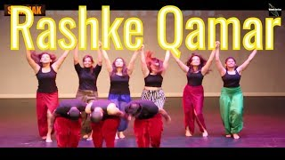 mere rashke qamar|song|full| lyrics| dance - YouTube