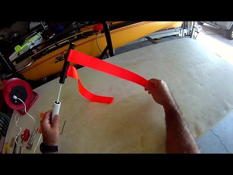 Diy Kayak Safety Flag Using 3d Printed Parts Florida
