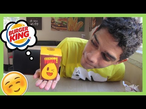 NOVO COXINHA FRIES DO BURGER KING! É BOM? #DarioExperimenta