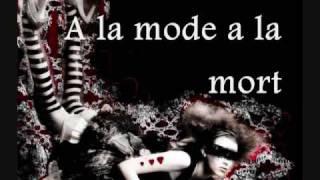 ANGELSPIT - A la Mode A la Mort (LYRICS)