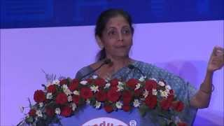 Nirmala Sitharaman – Propelling the Economy of Bharat – at WHEF 2014@New Delhi