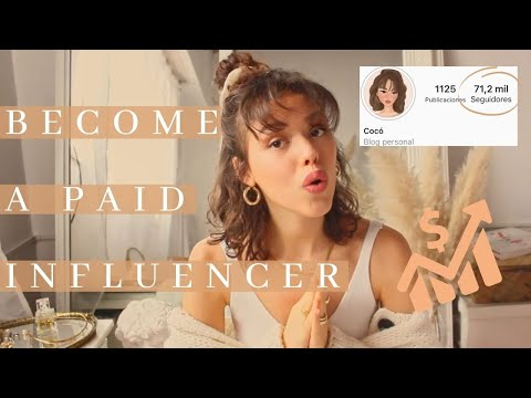 BECOME A PAID INSTAGRAM INFLUENCER 2020   Follow These 4 Steps; All You Need to Know To Get Started