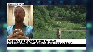 """US - South Korea War Games: """"Troops will be underground in bunkers playing computer simulations"""""""