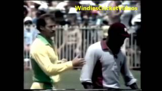 Viv Richards vs Denis Lillee Confrontation