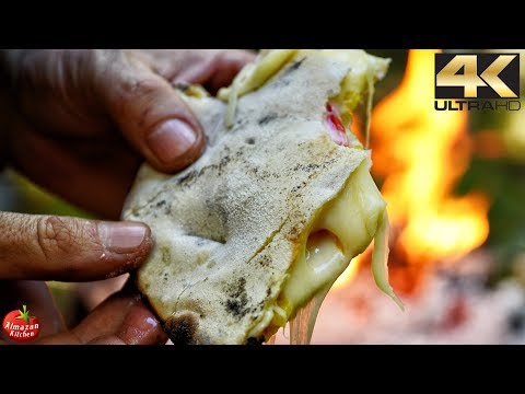 Best Tortilla Sandwich Recipe – 4K Primitive Cooking