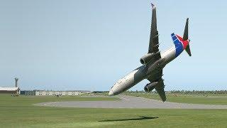 Cuba Plane Crash, Cubana de Aviancio B737 Crashes After Takeoff [XP11]