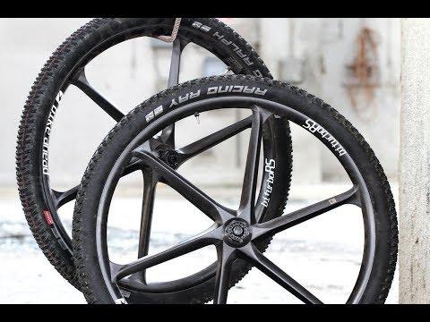 MTB Carbon-Laufräder im Crash-Test