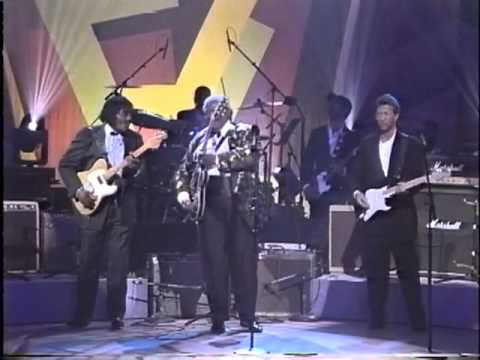 B.B. King, Jeff Beck, Eric Clapton, Albert Collins & Buddy Guy in Apollo Theater 1993 Part 2