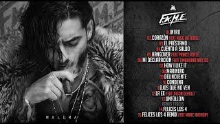 Maluma F.A.M.E. Album Completo 2018