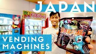 Top 10 Japanese Vending Machines in Tokyo Haneda Airport