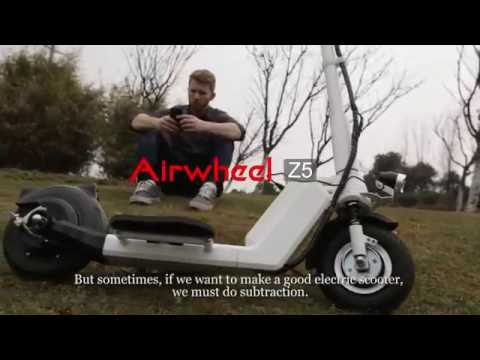 Airwheel Z5 foldable electric scooter  #street #sports