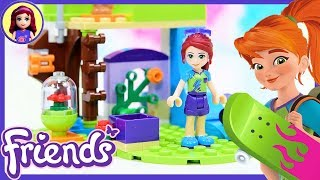 LEGO Friends Mias Bedroom Build Review Silly Play Kids Toys