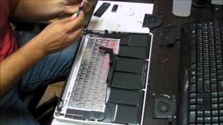 "Macbook Pro 15"" A1398 Keyboard Replacement"