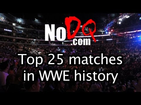 #15 of the top 25 greatest matches in WWE history