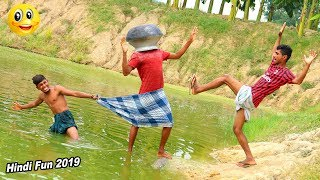 Indian New funny Video😄-😅Hindi Comedy Videos 2019-Episode-55--Indian Fun || ME Tv