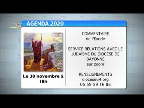 Agenda du 23 novembre 2020