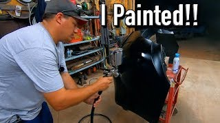 I Painted the Dodge Dart Bumper - Now it's for Sale!