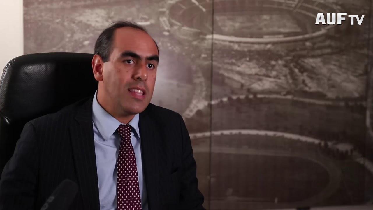 Fernando Sosa habló sobre integración del fútbol uruguayo (AUF - OFI).