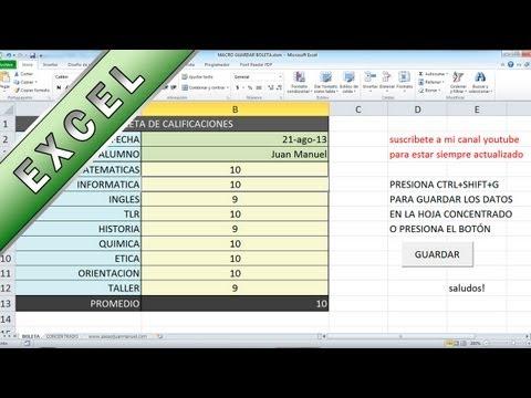 Tutorial Excel - Macro que Copia, Ordena y guarda informacion - Asesor Juan Manuel