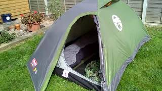 Coleman Darwin 2 tent tour and my camping gear