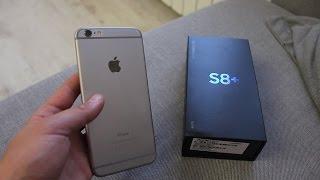 Поменял Iphone на Samsung S8+. Выставка Мотовесна