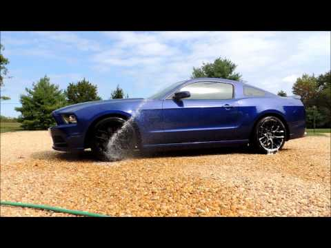 Meguiars Hot Rims All Wheel & Tire Cleaner Test & Review on 2013 Ford Mustang GT w/ SVE Drift Wheels
