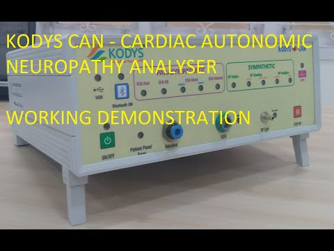 Cardiac Autonomic Neuropathy System Analyser