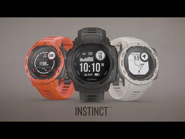 Фотографії Смарт-годинник Garmin Instinct Tundra with Grey band (010-02064- 01) 3ce0e22bc66fb