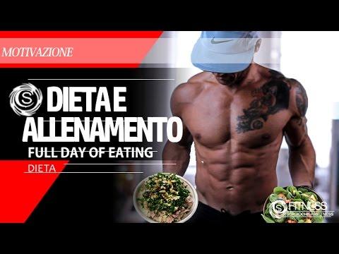 Dieta e allenamento - Giorno completo (full day of eating and Training) - Sergio Chisari