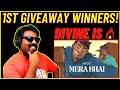 DIVINE MERA BHAI REACTION   MERA BHAI REACTION   DIVINE NEW SONG REACTION   AFAIK REACTION