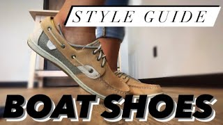 How To Style BOAT SHOES