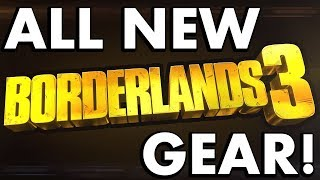 ALL NEW GUNS, WEAPONS AND GEAR from the Borderlands 3 Reveal Trailer (Breakdown) #PumaThoughts