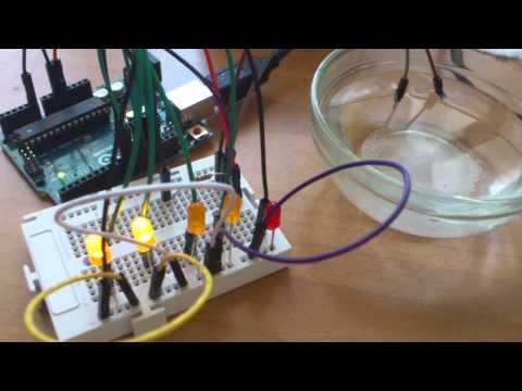 Medidor de salinidad. Arduino