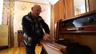 Пенсионер собрал коллекцию ретро приемников, телевизоров,  проигрывателей