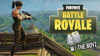 GOING FOR TRICKSHOTS ONLY FOR THE BOYZ! - Fortnite Battle Royale