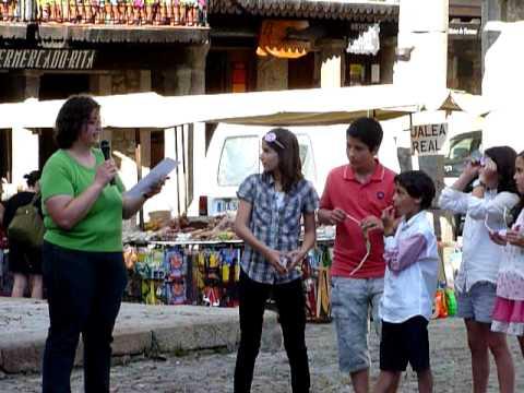 Jornada de Sensibilización de Cáritas en La Alberca.MOV