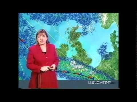 BBC  Weather March 2001 snow event