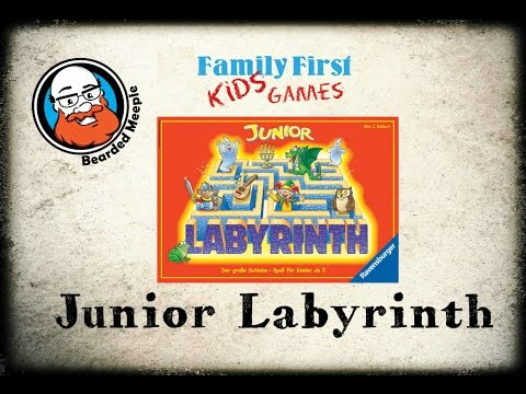 Bearded Meeple reviews Junior Labyrinth