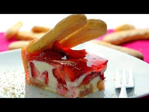 Tort truskawkowo-jogurtowy | Smaczne-Przepisy.TV