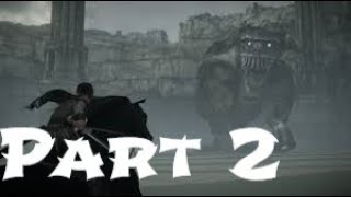 Shadow Of The Colossus Walkthrough Gameplay Part 2 Full HD 1080p.