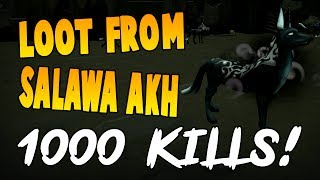 Runescape 2017 | Loot From 1000 Salawa Akh! | NEW slayer creature!