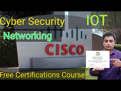 Cisco Free Course With Certificate | Networking | Cyber security | IOT