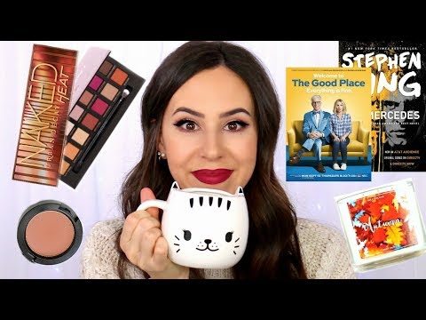 FALL MUST HAVES 2017 || Favorite Makeup, Fashion, TV Shows, Books || October 2017