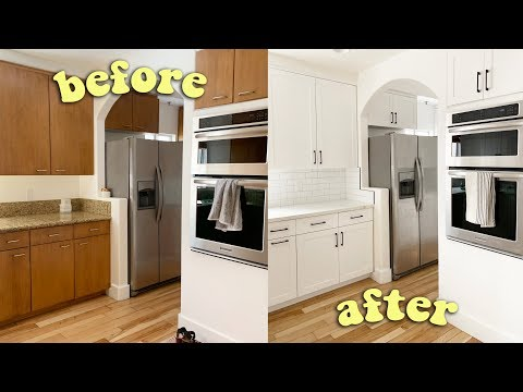 MY KITCHEN REMODEL!!! crazy before & after!!!