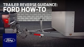 Setting Up Trailer Reverse Guidance | Ford How-To | Ford