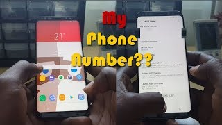 How to see your phone number on Galaxy S8