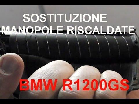 Manopole riscaldate BMW GS 1200 - Sostituzione grip.